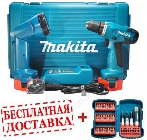 Акк. шуруповерт Makita 6271DWALE