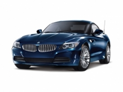 BMW Coupe Blue