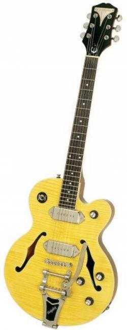 Полуакустическая гитара EPIPHONE WILDKAT AN CH W/BIGSBY