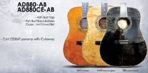 Гитара акустическая CORT AD880-AB (NAT)